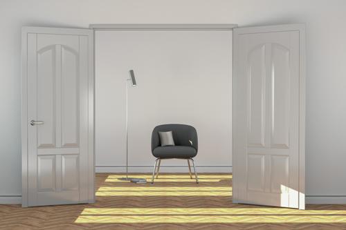 Frisch lackierte Türen - Malerbetrieb Huber