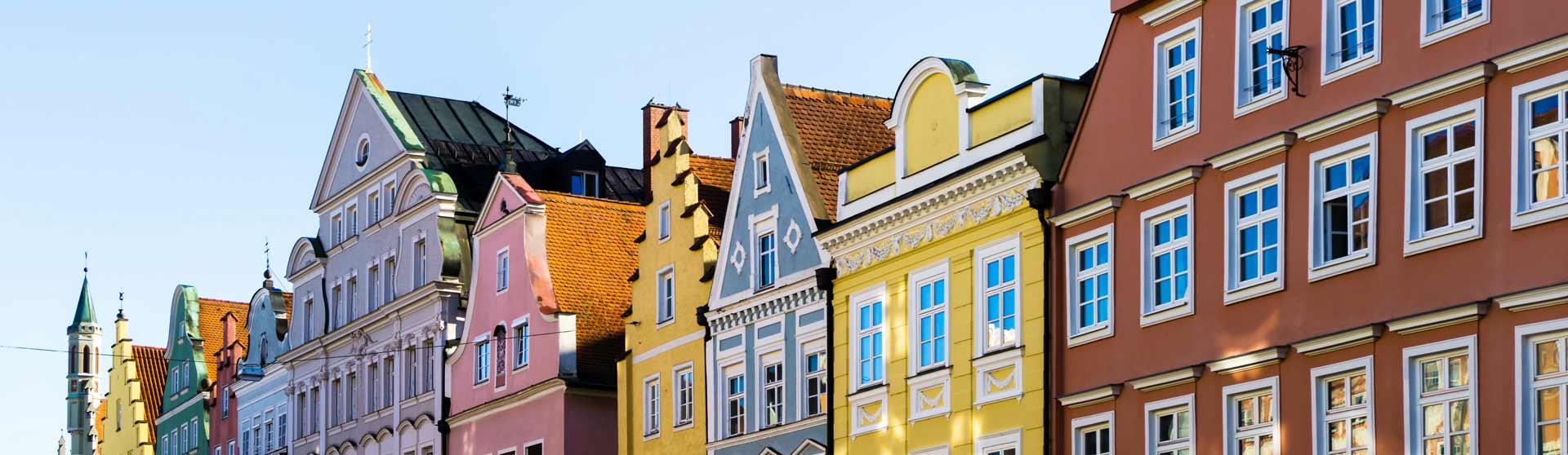 Fassadenanstrich - Malerbetrieb Huber in Landshut