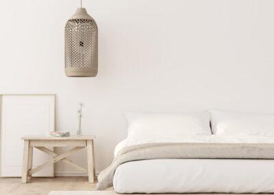 harmonsiche Raumgestaltung - Schlafzimmer